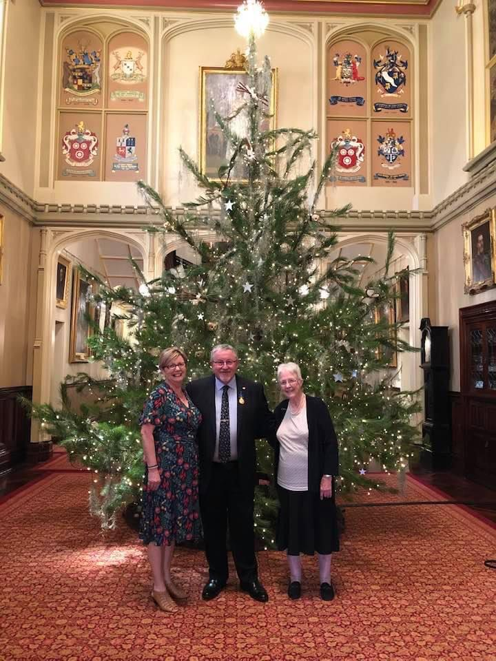 Rev Rod Moore receives the Australia Order of Merit for service to the community through chaplaincy, November 2020.